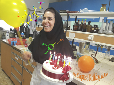The elements of life are knowledge, love and Happiness (My surprise Birthday in Lab.)